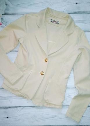 Трикотажный пиджак to be too для девочки на рост 145-150 см