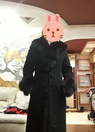 Пальто зимнее размер 44