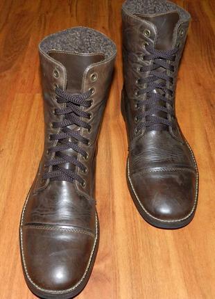 Rieker! оригинальные, кожаные, невероятно крутые ботинки