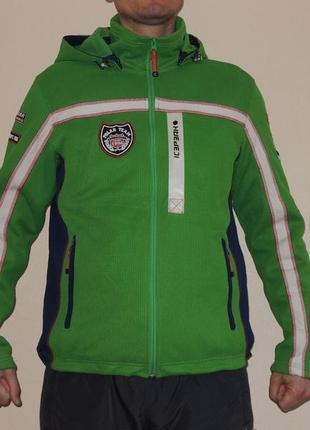Фирменная стильная куртка ветровка icepeak (финляндия) p.l