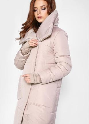 Трендовое зимнее пальто