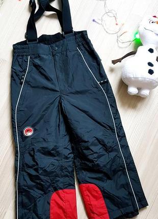 Полукомбинезон лыжный сноубордический штаны горнолыжный