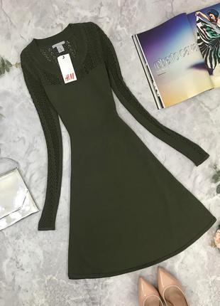 Актуальное платье от h&m  dr1847146 h&m