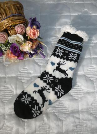 Теплые носки-тапочки 😍