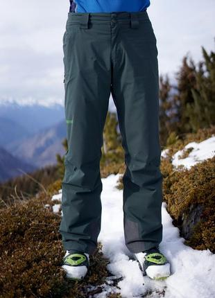 Фирменные лыжные облегченные женские штаны