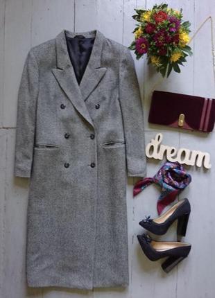Стильное тёплое пальто m&s