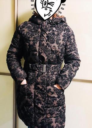Зимняя куртка пуховик desigual