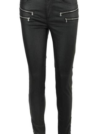 Крутые штаны с напылением by very размер 14. смотрите замеры.