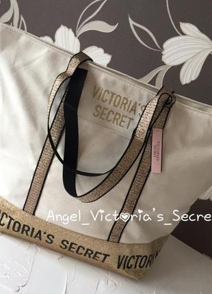 Сумочка victoria's secret оригинал, большая сумка шоппер виктория сикрет