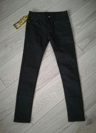 Джинсы на флисе/теплые джинсы/джинсы зима