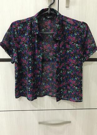 Рубашка с коротким рукавом new look
