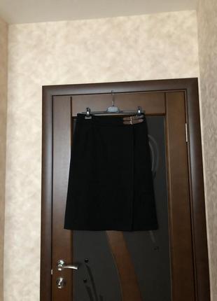Базовая и брендовая суперовая демисезонная юбка-карандаш tu на наш 52-54