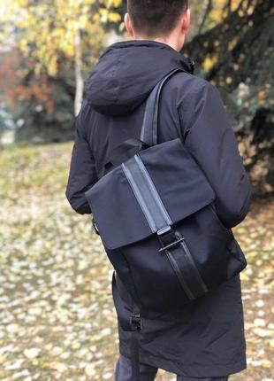 Черный рюкзак aga