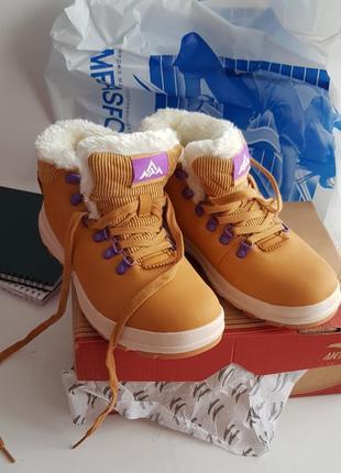 Ботинки anta warm shoes