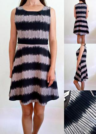 Красивое базовое платье с подкладкой