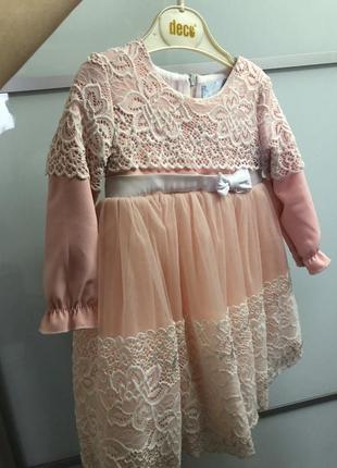 Платье на годик 1 год