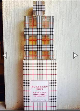 Burberry brit парфюм оригинал с коробкой