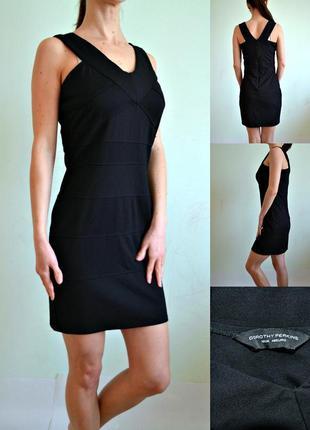 Маленькое черное платье по фигуре 12 dorothy perkins