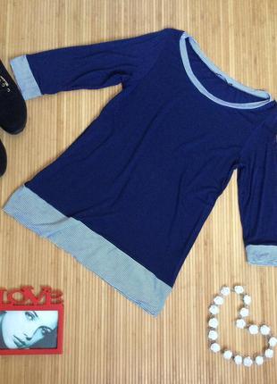 Красивенная трикотажная блуза из вискозы,размер xxl