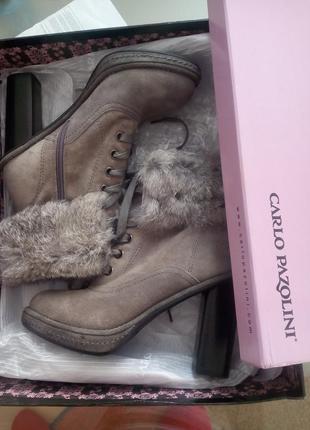 Ботинки женские осень-зима 36 размер.