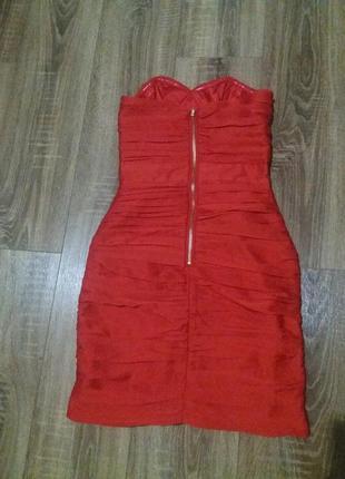 Шикарное платье с молнией