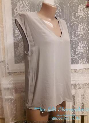 Новая лёгкая фирменная блуза зара,  размер м-л
