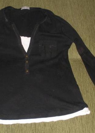 Хлопковая кофта marks & spencer