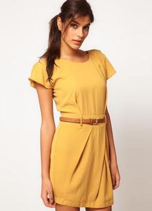 Короткое летнее платье asos мини юбка-тюльпан