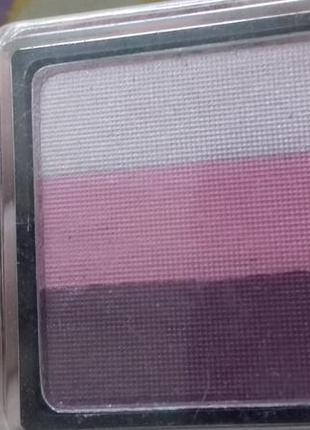 Набор теней пигментированные нежно розовые фиолетовые сатиновые тени некст next