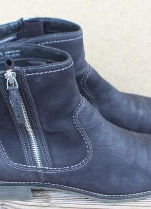 Ботинки tamaris германия нубук (кожа) 41р