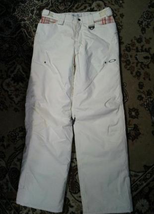 Теплые лыжные женские штаны