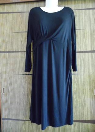 Платье для беременных трикотаж, новое dorothy perkins размер 18 – идет на 52-52+