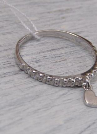Серебряное кольцо 16 рр