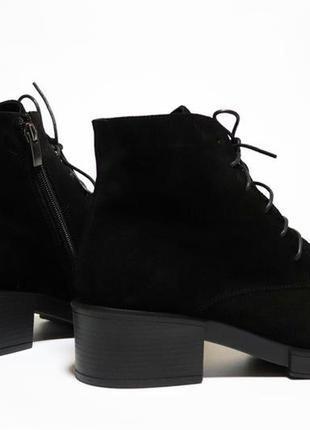 Зимние ботинки respect оригинал. натуральная замша, шерсть. 36-40