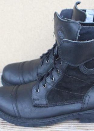 Ботинки dockers кожа + текстиль германия 44р