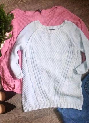 Нежный вязаный свитерок свитер(1+1=3)