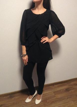 Роскошная блуза orsay шифоновая с воланами / горячая цена! скидки!