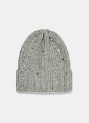 Теплая шапка zara