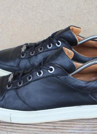 Кеды navy boot кожа швейцария 44р кроссовки мужские