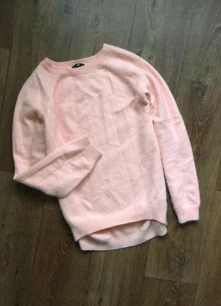 Теплый, ангоровый, обьемный свитер h&m