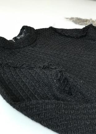 Твидовая кофта свитер