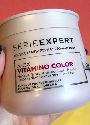 L'oreal professionnel vitamino color a-ox mask маска-желе.