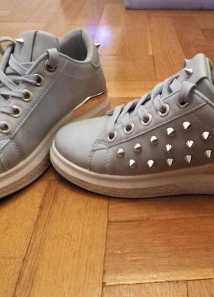 Кеды кроссовки с шипами