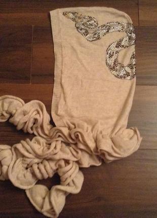 Оригинальный шарф-капюшон! от  thomas wylde