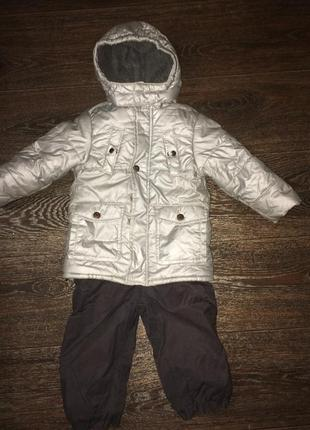 Куртка mexx + комбинезон benetton