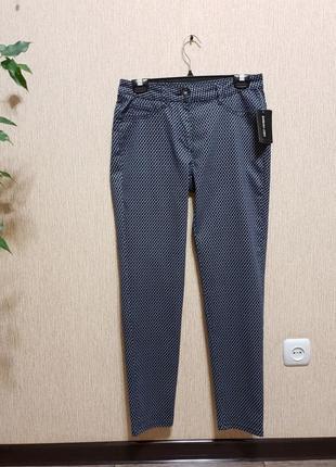 Крутые, стильные брендовые штаны, брюки barbara lebek, оригинал хлопок, вискоза