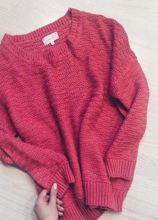 Розовый свитер new look