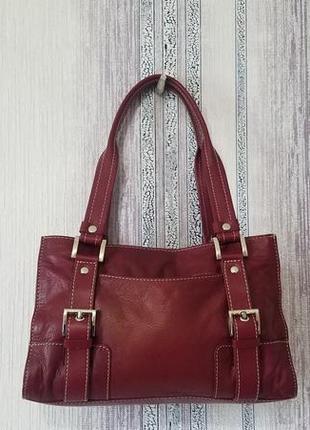 Кожаная сумка debenhams collection.