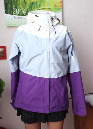 Фиолетовая куртка ветровка helly hansen 38 м размер