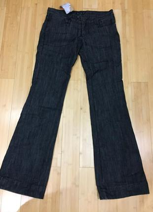 Серые джинсы испанские massimo dutti